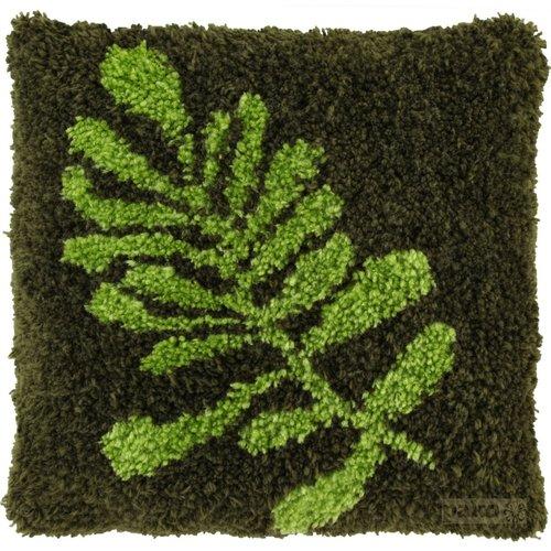 Pako Pako knoopkussen Blad Groen