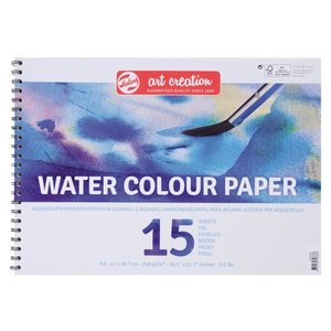 Art Creation Art Creation Aquarel Papier met ringband 240 gram