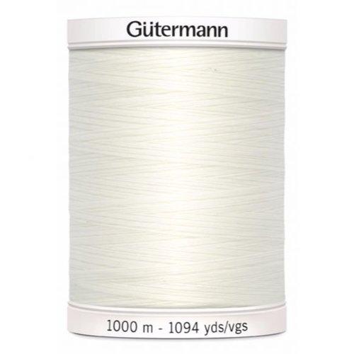 Gutermann Gutermann Allesnaaigaren 1000 meter nr 111 Creme