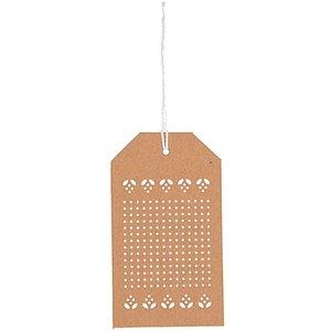Rico Design Decoratie Borduurlabels 24 stuks
