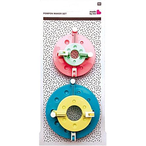 Rico Design Pompom Maker Set 4 delig