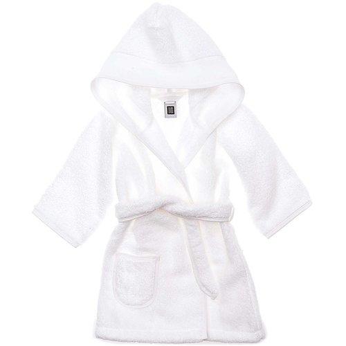 Rico Design Badstoffen Kinderbadjas met aidaband Wit