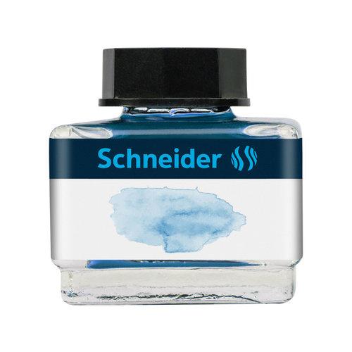 Schneider Inktpotje Schneider 15ml IJsblauw zowel vulpen als rollerball