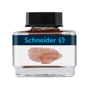 Schneider Inktpotje Schneider 15ml Cognac zowel vulpen als rollerball
