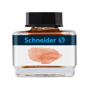 Schneider Inktpotje Schneider 15ml Abrikoos zowel vulpen als rollerball