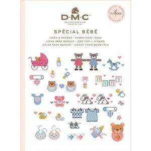 DMC DMC Borduurpatronen Mini Boekje Baby