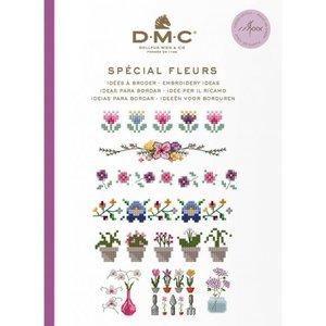 DMC DMC Borduurpatronen Mini Boekje Bloemen