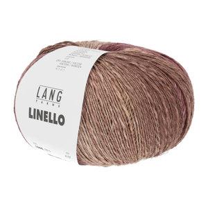 Lang Yarns Lang Yarns Linello 100 gram nr 15 Cognac Bordeaux