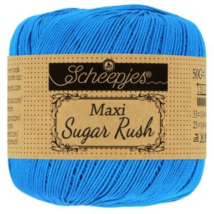 Scheepjeswol Maxi Sugar Rush 50 gram 215 Royal Blue