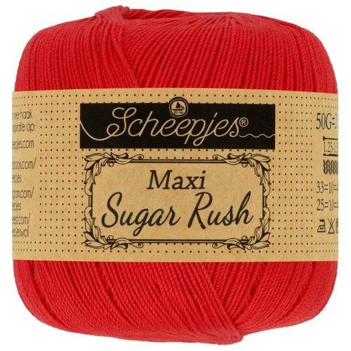 Scheepjeswol Maxi Sugar Rush 50 gram 115 Hot Red