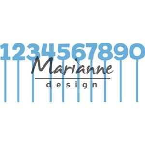 Marianne Design Marianne D Creatable Pins cijfers LR0582 79x79,5mm