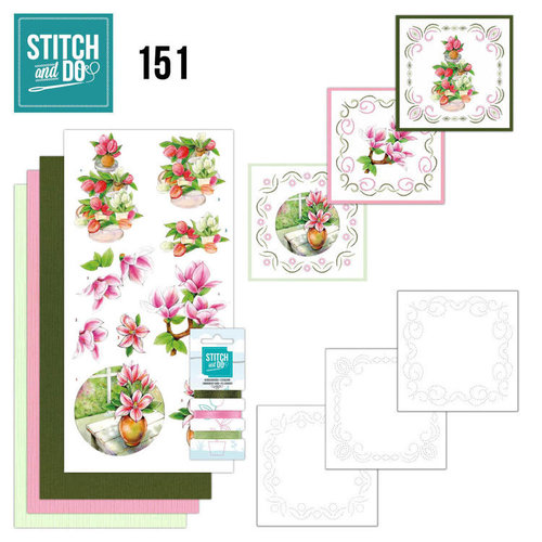 Stitch and Do  Stitch and Do 151 - Jeanine's Art - Welcome Spring