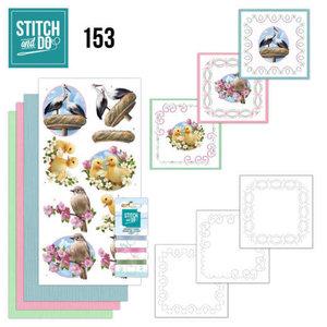 Stitch and Do  Stitch and Do 153 - Amy Design - Enjoy Spring