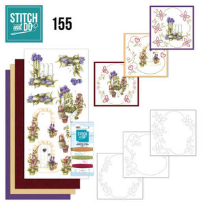 Stitch and Do  Stitch and Do 155 - Precious Marieke - Beautiful Garden - Allium