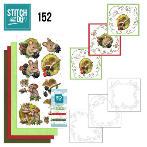 Stitch and Do  Stitch and Do 152 - Amy Design - Forest Animals
