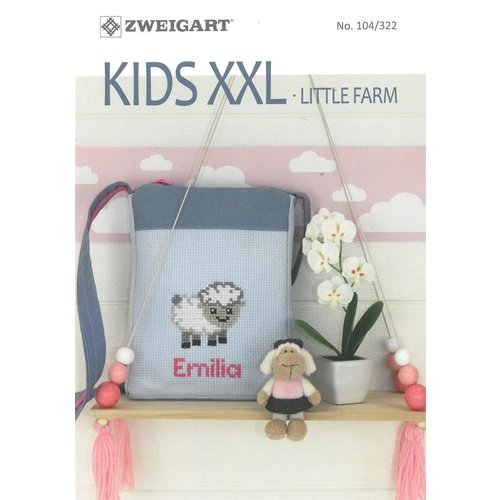 Zweigart Zweigart borduurboekje 104-322 KIDS XXL