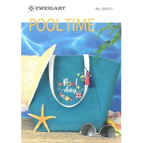 Zweigart Zweigart borduurboekje Pool Time