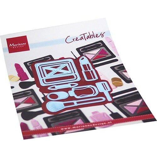 Marianne Design Marianne D Creatable Makeup set LR0704 110x160mm (03-21)