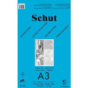 Schut   Schut Aquarelpapier Blauw 250 gram