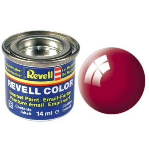 Revell Revell Email Verf 14 ml nr 34 Italiaans Rood Glanzend