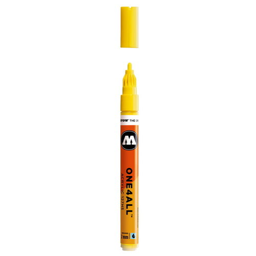 Molotow Molotow One four All Acrylmarker 2 mm nr 6  Zink Geel