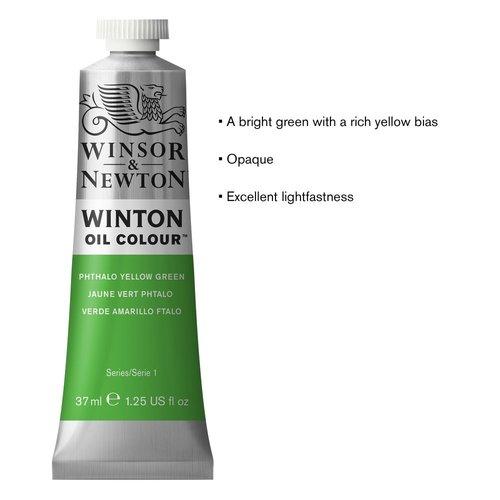 Winsor & Newton Winton olieverf 37 ml Phtalo Yellow Green 403
