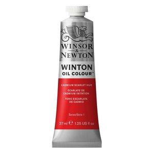 Winsor & Newton Winton olieverf 37 ml Cadmium Scarlet Hue 107