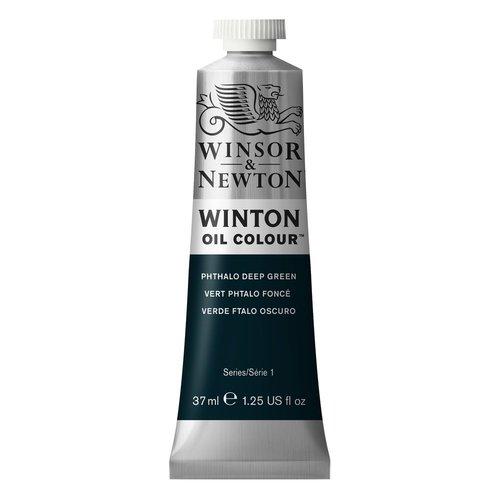 Winsor & Newton Winton olieverf 37 ml Phtalo Deep Green 048