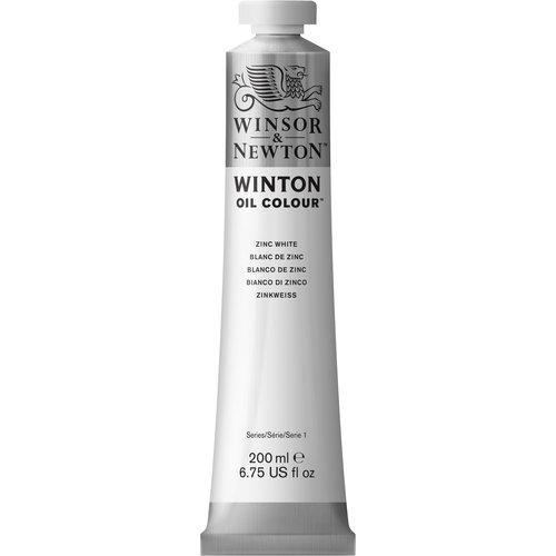 Winsor & Newton Winton olieverf 200 ml Zinkwit 748