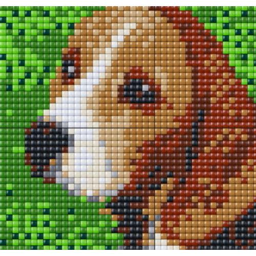 PixelHobby Pixelhobby XL patroon 4 platen Beagle 28019