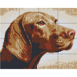 PixelHobby Pixelhobby XL patroon 16 platen Hond
