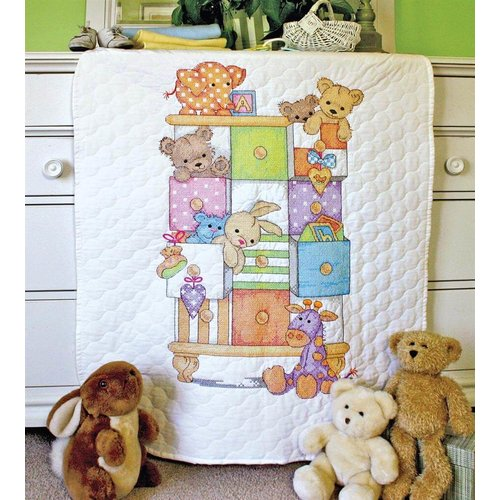 Dimensions Dimensions Baby Drawers Quilt 0174348