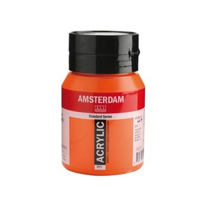 Amsterdam Amsterdam Acrylverf 500 ml Vermiljoen 311