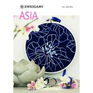Zweigart Zweigart borduurboekje Asia