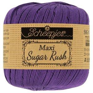 Scheepjeswol Maxi Sugar Rush 50 gram 521 Deep Violet