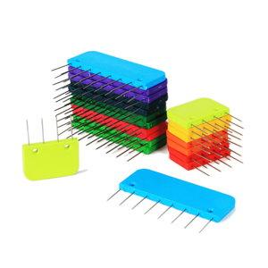 Knitpro Knitpro Knitblockers doosje regenboog 20 stuks