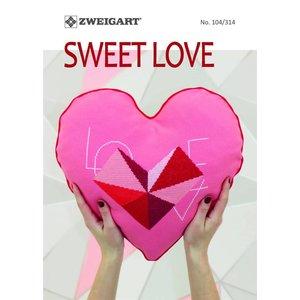 Zweigart Zweigart Borduurpatronen boekje Sweet Love