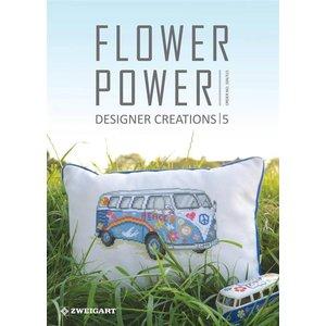 Zweigart Zweigart Borduurpatronen boekje Flower Power