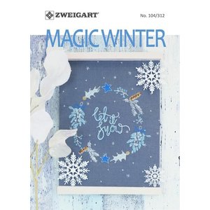 Zweigart Zweigart Borduurpatronen boekje Magic Winter 104-312