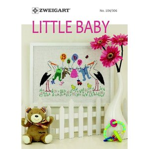 Zweigart Zweigart Borduurpatronen boekje Little Baby 104-306