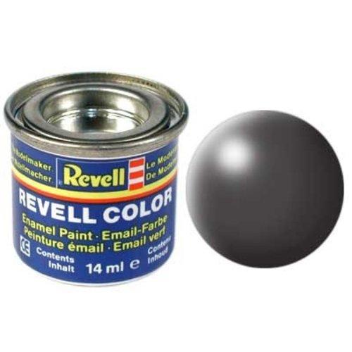 Revell Revell Email Verf 14 ml nr 378  Donkergrijs Zijde Mat