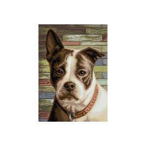 Artibalta Diamond Painting Staffordshire Terrier AZ-1701
