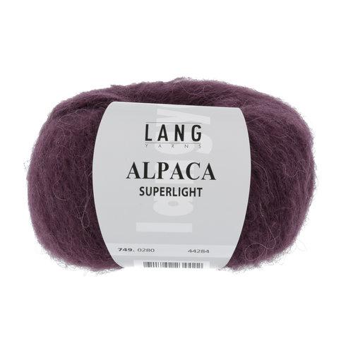 Lang Yarns Lang Yarns Alpaca Superlight Aubergine 25 gram nr 280