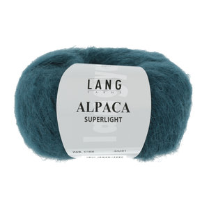 Lang Yarns Lang Yarns Alpaca Superlight Petrol 25 gram nr 188