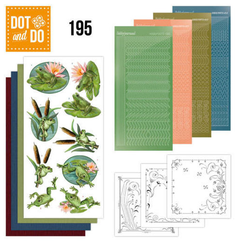Dot and Do Dot and Do 195 - Amy Design - Friendly Frogs