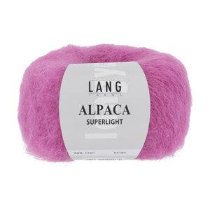 Lang Yarns Lang Yarns Alpaca Superlight Pink 25 gram  nr. 185