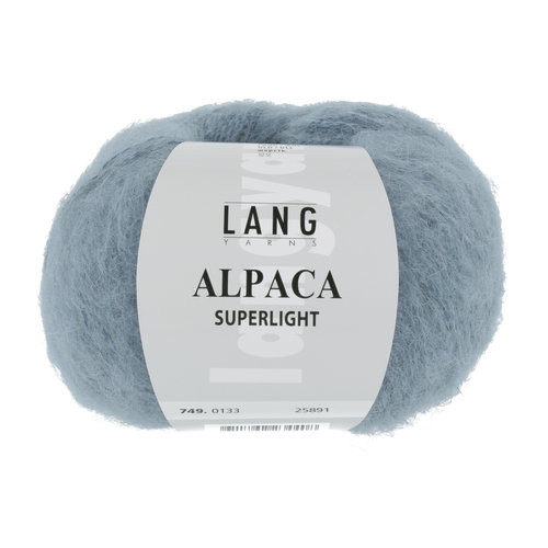 Lang Yarns Lang Yarns Alpaca Superlight Jeans Mittel 25 gram nr 133