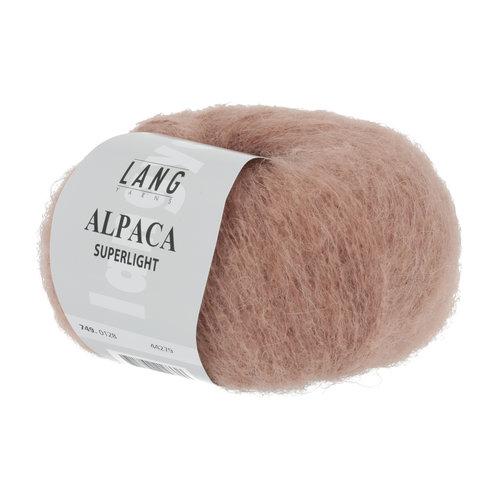 Lang Yarns Lang Yarns Alpaca Superlight Lachs 25 gram nr 128