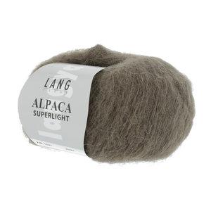 Lang Yarns Lang Yarns Alpaca Superlight Schlamm 25 gram nr 99