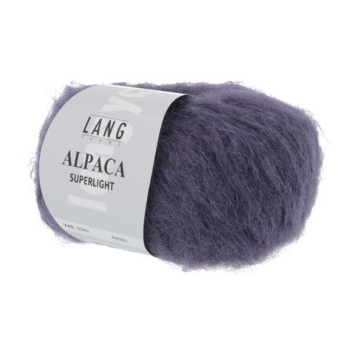 Lang Yarns Lang Yarns Alpaca Superlight Violet 25 gram nr 80